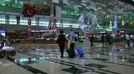 Stock Video Footage of Changi International Airport Singapore