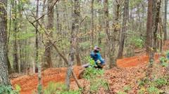 Motocross dirt bike racing 16 Stock Footage