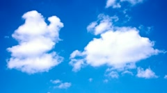 Timelapse of clouds Stock Footage