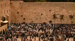 The Western Wall  4 Stock Footage