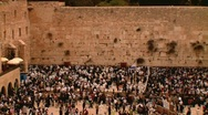 Stock Video Footage of The Western Wall  4