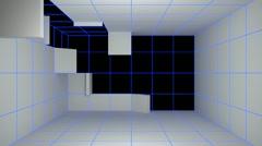 Sisätila huone itsensä luomista takalevy Arkistovideo
