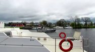 River Shannon A. Stock Footage