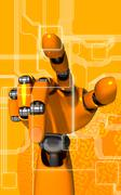 Stock Illustration of Robot arm
