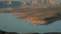 Lake Powell 1 JPEG 100 NTSC Stock Footage