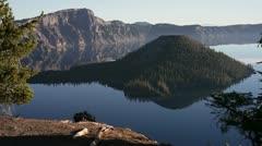 Crater Lake NP  JPEG 100 NTSC Stock Footage