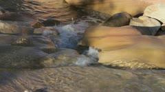 Creek Zion NP 5 JPEG 100 NTSC Stock Footage