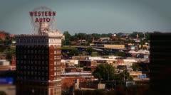 Kansas City timelapse - stock footage
