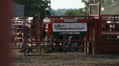 Stock Footage - Stock Chutes at Rodeo Stock Footage