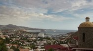Stock Video Footage of los cabos pedregal view luxury villas mexico
