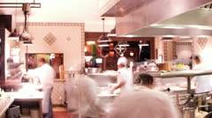 Boutique hotel open kitchen mexico baja california sur Stock Footage