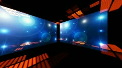 Concert Stage 3D Sound graphic equalizer 7   ++ + More and most diverse Stock Footage