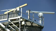 Radar Tower & surveillance; 3 - stock footage