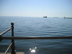Thessaloniki Sea - stock photo