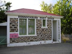 Bannockburn Post office - stock photo