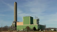Green power plant on cape cod canal; 5 Stock Footage