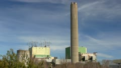 Cape cod canal electric plant; 2 Stock Footage