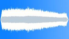 Snowcat piste basher working on piste - sound effect