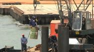 Stock Video Footage of Gambia ferry