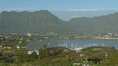 Hawaii Kaneohe Bay Day 04 Stock Footage