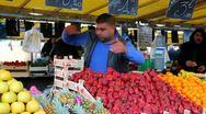 Strawberries Stock Footage