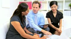 Advertising Team Planning Meeting  Stock Footage