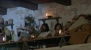Last supper 02 Stock Footage