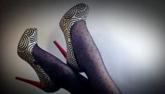 heels - stock footage