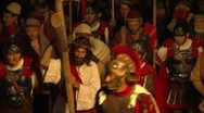 Stock Video Footage of via crucis 01