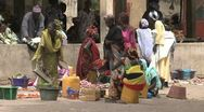 Stock Video Footage of Senegal market