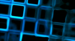 Glowing grid Stock Footage