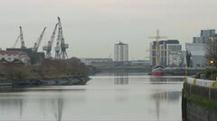 Port of Clyde Stock Footage