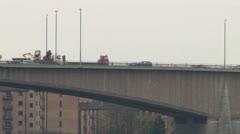 Freeway Bridge Stock Footage