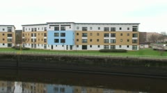 River Clyde Flats Stock Footage