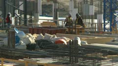Construction site tight, Calgary International Airport, #2 Stock Footage