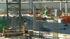Construction site tight, Calgary International Airport, #1 Stock Footage