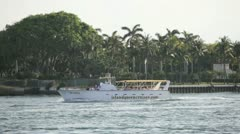 Island Queen tour boat Stock Footage