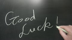 Good luck Stock Footage