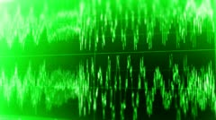Audio Wave Form 18 Stock Footage