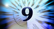 Countdown Equalizer Abstract Wave 2 Stock Footage