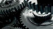 Mechanisms of metal on the move Stock Footage