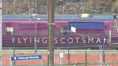Flying Scotsman Stock Footage