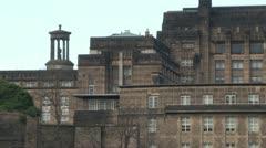 Edinburgh Architecture Stock Footage