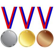 Medals Stock Illustration
