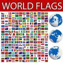 Stock Illustration of world flags