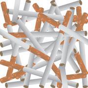 Cigarettes Stock Illustration