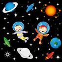 Astrounauts Stock Illustration