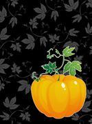 thanksgiving day celebration card - stock illustration