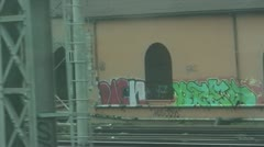 Italian Grafitti - stock footage