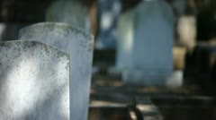 Cemetery-9376 Stock Footage
